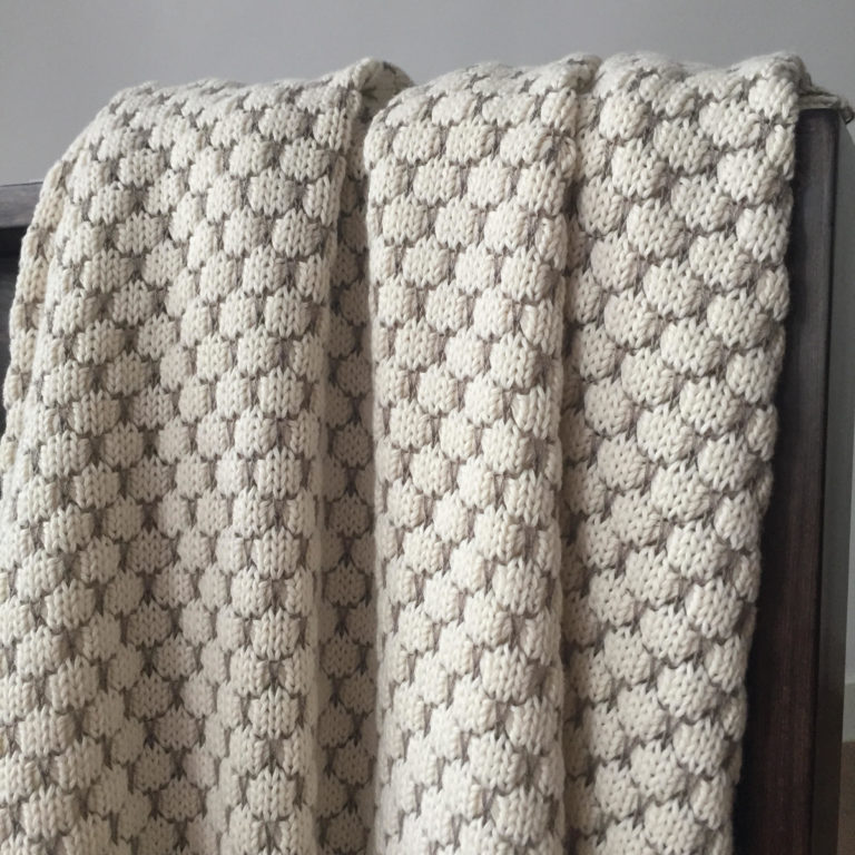 honeycomb-cotton-throw-sand