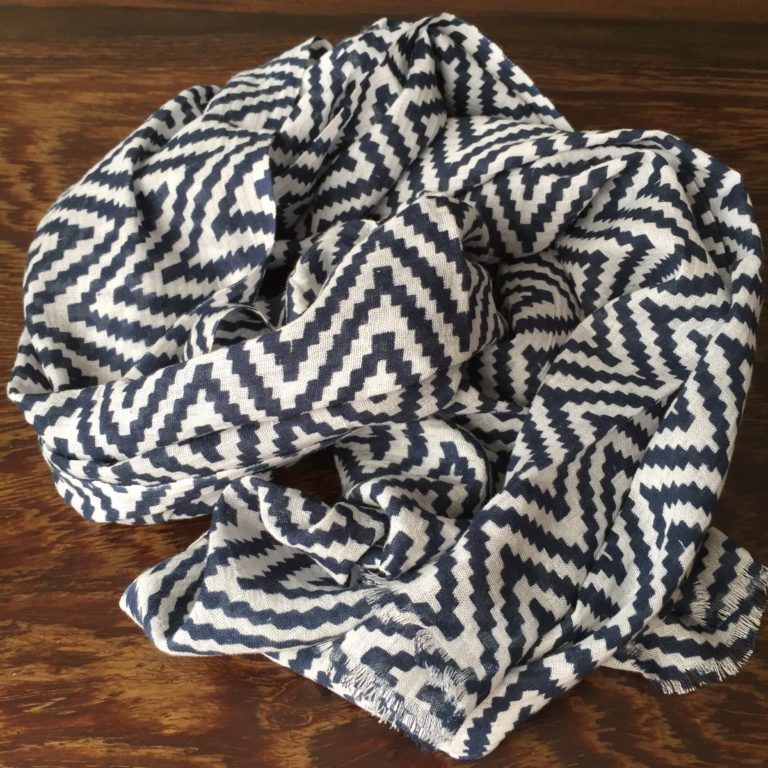 chevron-cotton-scarf-blue