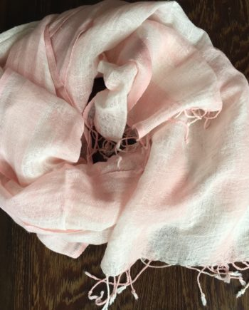 pink scarf as gift in Hong Kong