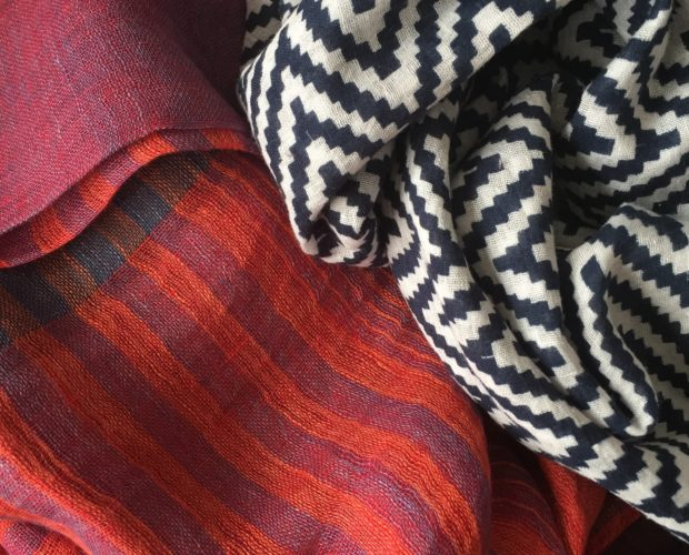 scarves linen