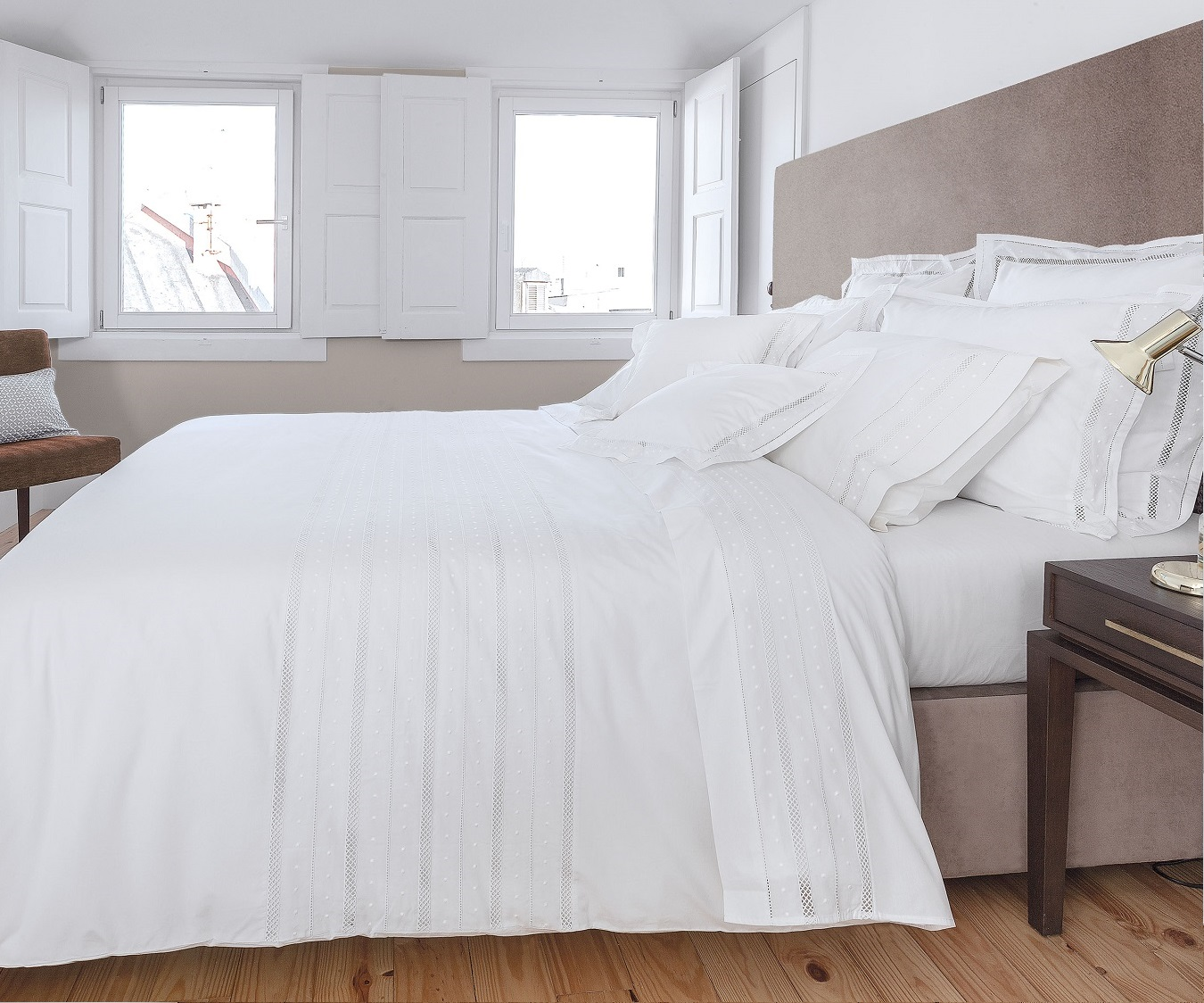 Bed Linen Portuguese Lace Duvet Set From Domus Home